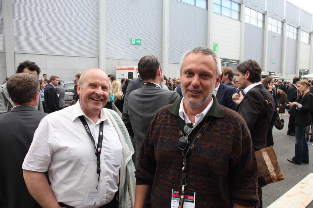 Eric Martienssen und Uwe Weider